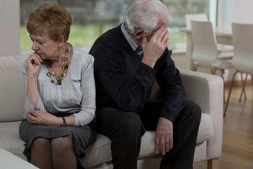Senior divorce